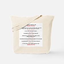 Bag's Tote Bag