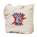 Bulldog Totes & Shopping Bags