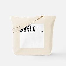 Evolution of Cornhole Tote Bag