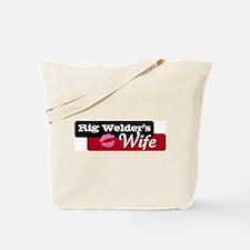Rig Welder's Wife Tote Bag
