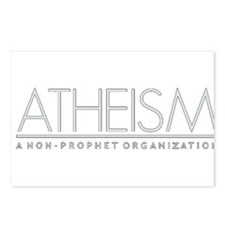 Atheism Postcards (Package of 8)