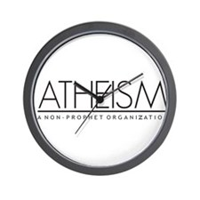 Atheism Wall Clock