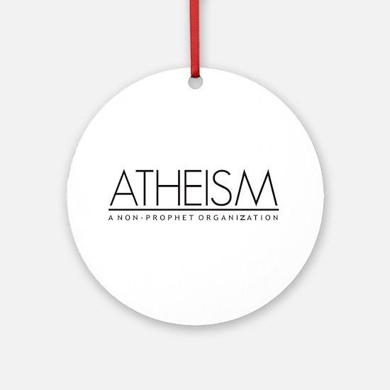 Atheism Ornament (Round)