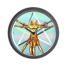 Pagan Divinci Wall Clock