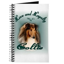Rough Collie Gifts Journal