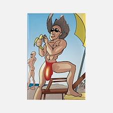 Beach Bananas Magnet.