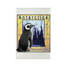 Antarctica Penguin Rectangle Magnet