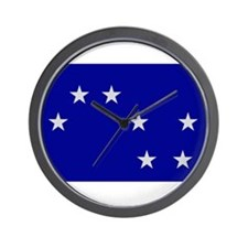 Starry Plough Wall Clock