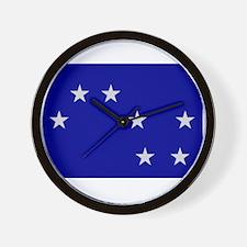 Starry Plough Wall Clock