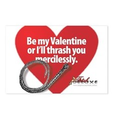 Dominant Valentine Postcards (Package of 8)