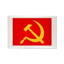 Hammer and Sickle Rectangle Magnet
