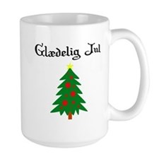Danish Christmas Tree Mug