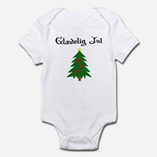 Danish Christmas Tree Infant Bodysuit