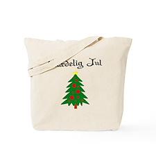 Danish Christmas Tree Tote Bag