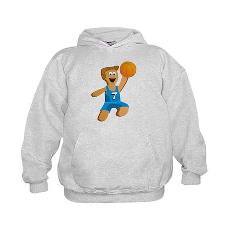 Basketball Boy Kids Hoodie