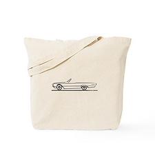 1966 Ford Thunderbird Convertible Tote Bag