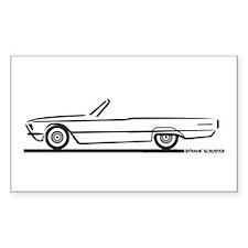 1966 Ford Thunderbird Convertible Decal