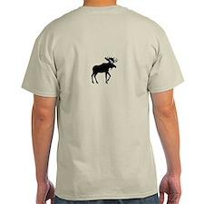 Funny Ski moose T-Shirt