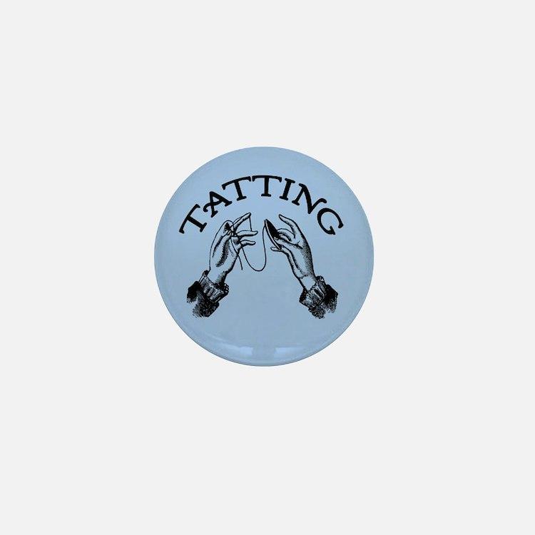 Tatting Mini Button