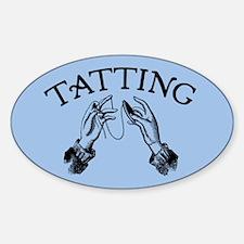 Tatting Oval Decal