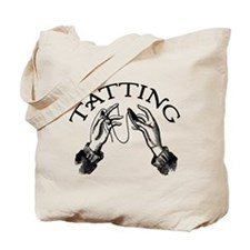 Tatting Tote Bag