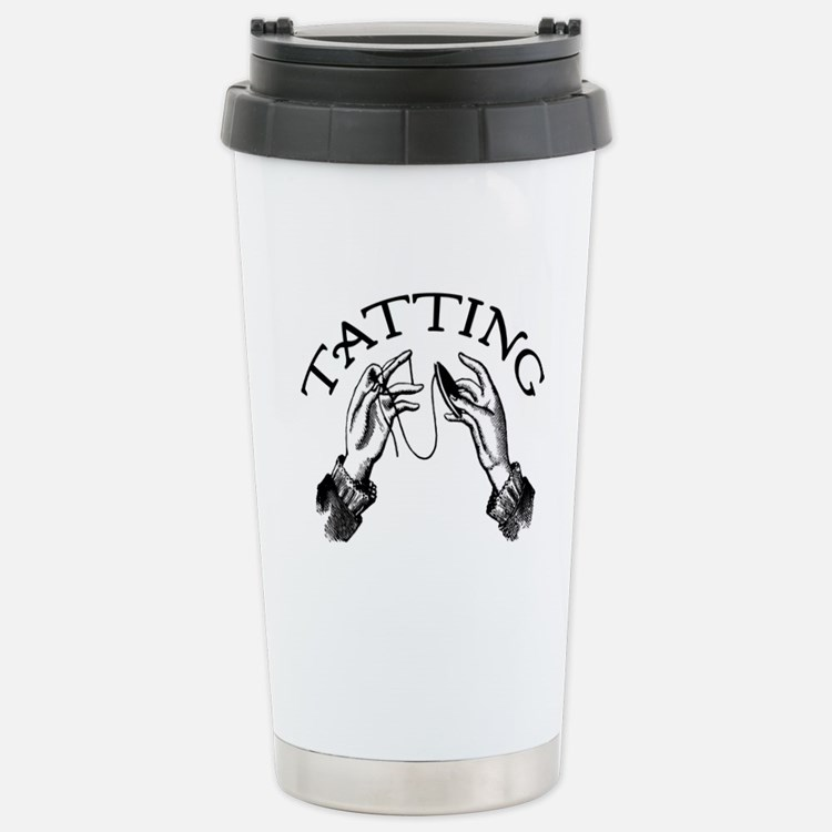 Tatting Stainless Steel Travel Mug