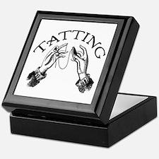 Tatting Keepsake Box
