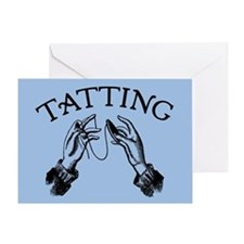 Tatting Greeting Card