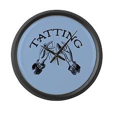 Tatting Large Wall Clock