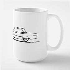 1966 Ford Thunderbird Landau Large Mug