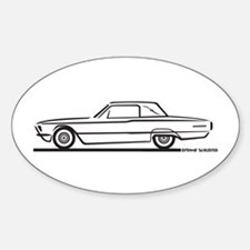 1966 Ford Thunderbird Landau Oval Decal