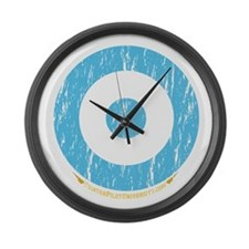 Sweden Large Wall Clock