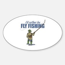 Fly Fishing Decal