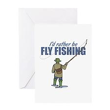 Fly Fishing Greeting Card