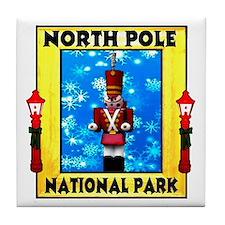 North Pole National Park Tile Coaster