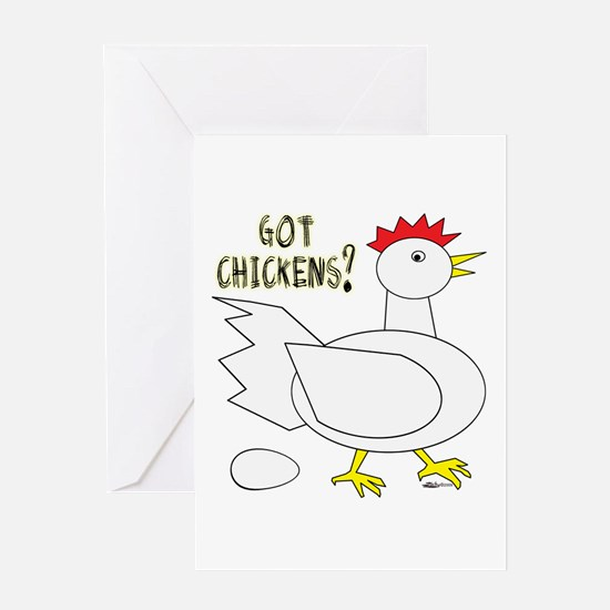 Got Chickens? Greeting Card