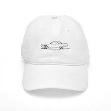 1962 Ford Thunderbird Hardtop Baseball Cap