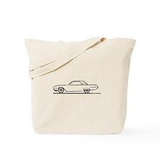 1962 Ford Thunderbird Hardtop Tote Bag