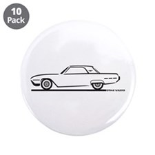 "1962 Ford Thunderbird Hardtop 3.5"" Button (10 pack"