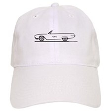 1963 Ford Thunderbird Convertible Baseball Cap