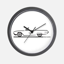 1963 Ford Thunderbird Convertible Wall Clock