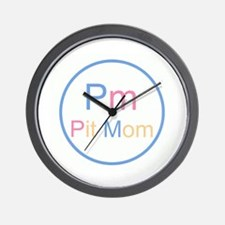 Pit Mom Wall Clock