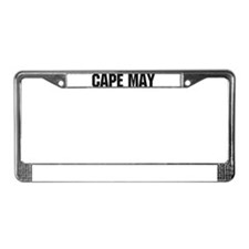 Cape May, New Jersey License Plate Frame