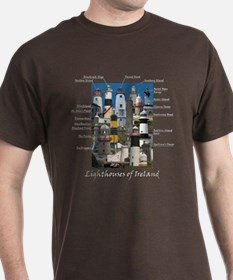 Lighthouses Of Ireland North T-Shirt