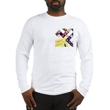 Civil Marriage Game 2010 U.S. Long Sleeve T-Shirt