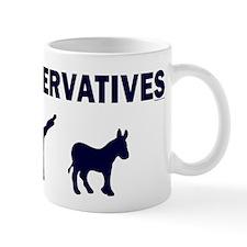 Conservatives Kick Ass Mug