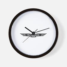 Ford Thunderbird Black Bird Logo Wall Clock