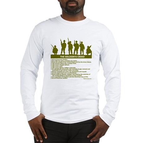 SOLDIER'S CREED Long Sleeve T-Shirt