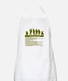 SOLDIER'S CREED Apron