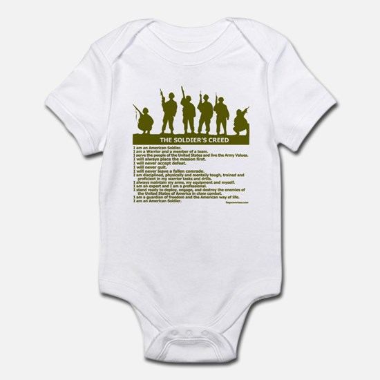 SOLDIER'S CREED Infant Bodysuit